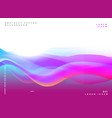 abstract purple poster design background vector image