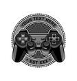 controller game logo vector image