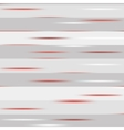 Grey striped pattern with red speckles vector image vector image