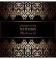 Invitation decorative 26 vector image vector image