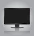 Modern monitor vector image