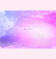 abstract colorful watercolor background design vector image vector image