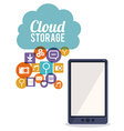 Cloud Storage design vector image vector image
