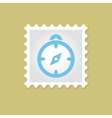 Compass stamp vector image