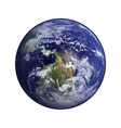 earth in space elements of this furnished by nasa vector image vector image