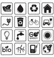 Ecology icon vector image vector image