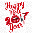 Happy new 2017 year 01 vector image vector image