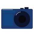 image blue camera or color vector image