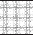 intricate geometrical tiles seamless pattern vector image vector image