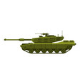 military tank heavy special machinery armored vector image