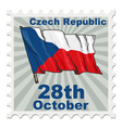 national day of Czech Republic vector image vector image