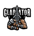 roman gladiator vector image vector image