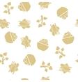 Vegetarian Food Seamless Seamless Flat vector image