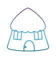 hut icon image vector image