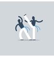 Capoeira sport game vector image