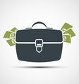 Briefcase Stock vector image vector image