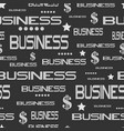 business seamless pattern vector image