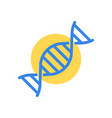 dna or rna chromosome medical and hospital vector image