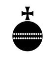 globus cruciger vector image vector image