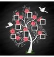 memory tree vector image vector image