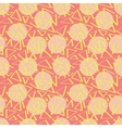 Pink abstracciones pattern with circles vector image vector image