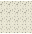 Polka dot beige seamless pattern vector image