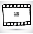 Grunge filmstrip may be used as a background vector image
