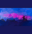 abstract irregular polygon background - triangle vector image vector image