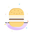 burger fast food fast food abstract flat color vector image vector image
