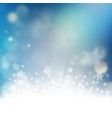 christmas greeting card with copyspace eps 10 vector image