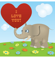 Elephant2 vector image vector image
