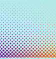 geometric gradient halftone circle pattern vector image vector image