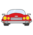 Red Convertible Car vector image vector image