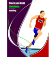 al 1112 Track and field 03 vector image vector image