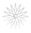 boho style dream catcher vector image vector image