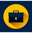 Briefcase accessory icon vector image