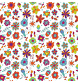 Floral Abstract bright flower vector image vector image