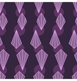 Geometric purple background vector image vector image