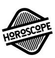 Horoscope stamp on white