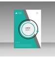 Leaflet Brochure Flyer template A4 size vector image