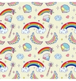 magic items seamless pattern vector image