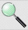 magnifier magnifying glass vector image