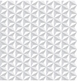 seamless white 3d pattern vector image vector image
