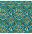 Turquoise Arabic pattern vector image vector image