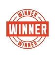 winner seal stamp icon vector image