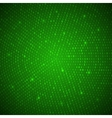 Abstract Green Binary Background vector image vector image