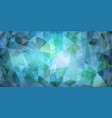 abstract mosaic background vector image vector image