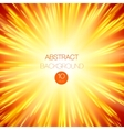 background with glowing rays vector image vector image