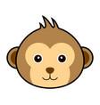 cute monkey cute monkey vector image vector image