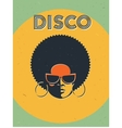 Disco party event flyer Creative vintage poster vector image vector image